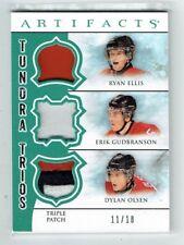 12-13 UD Artifacts  Ryan Ellis--Erik Gudbranson--D Olsen  /18  Triple Patches