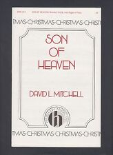 David L Mitchell Son of Heaven for Piano or Organ Christmas Sheet Music