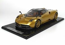 BBR Pagani Huayra Gold Met 1:12 VERY HUGE CAR*Brand New Sealed! LE 20pcs RARE