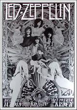 Led Zeppelin Ultimate Fan Poster Song Remains the Same Tribute Steve Harradine
