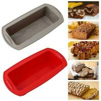 Non-stick Silicone Toast Bread Cake Baking Mold Loaf Bakeware Pan DIY Tin L3Q1