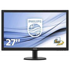 Philips 273V5LHSB 27 Zoll (68,6 cm) FHD PC-Monitor mit Standfuß EEK: B schwarz