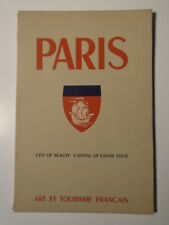 Book PARIS CITY OF BEAUTY CAPITAL OF GOOD TASTE Pictures & Perfume Ads.