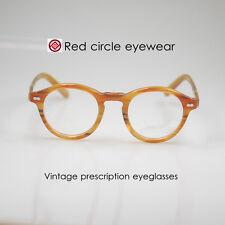 Vintage eyeglasses mens Johnny Depp rx eyeglasses women blonde optical eyeglass