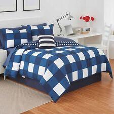 IZOD Buffalo Plaid Complete Bed Set- Size Full