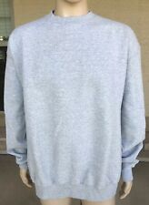Vintage Champion Crewneck Sweatshirt Solid Blank Gray Eco Authentic Size 2XL