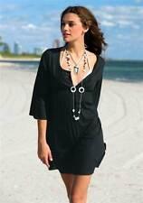 Figurbetonte 3/4 Arm Damenblusen, - tops & -shirts im Tunika-Stil aus Baumwolle