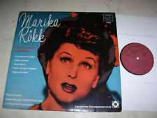 MARIKA RÖKK Original-Aufnahmen aus den Filmen *SONDERAUFLAGE 60s LP*