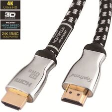 4K HDMI cable 6ft -HDMI 2.0 cord supports 1080p, 3D, 2160p, 4K UHD, HDR,