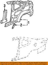 FORD OEM 98-03 Escort-Inner Quarter Panel Brace Left F8CZ6327801AA