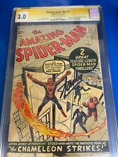 Amazing Spider-Man #1 - Marvel Silver Age 1963 CGC 3.0 Signed by Stan Lee
