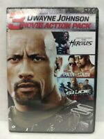 Dwayne Johnson DVD Set: Hercules, Pain & Gain, G.I.Joe Retaliation (NEW, Sealed)