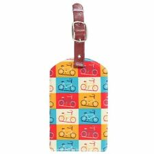Bicycle Cycling Bike Luggage Tag Valise Sac étiquette Kit voyage vacances accessoire