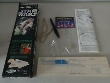 Vintage Star Wars Estes A-Wing Fighter Catapult Flying Model Kit Complete in Box