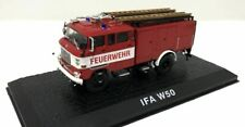 ATLAS EDITIONS - IFA W50 - FIRE ENGINE - 1:72 -BOXED/DISPLAY STAND INC