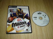 EA SPORTS MADDEN 2003 PC CD-ROM jeu