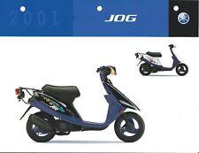 Scooter Data Sheet - Yamaha - Jog - 2001 (DC480)