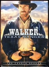 WALKER TEXAS RANGER:  The Fourth Season (DVD, 7-Disc Set, 27 Episodes) - NEW