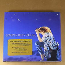 SIMPLY RED - STARS - 2CD+DVD - COLLECTOR'S ED. - 2008 - OTTIMO CD [AN-069]