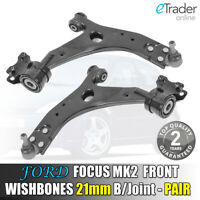 Ford Focus MK2 Wishbones 2006-2012 Front Lower Suspension Arms 21MM BALL JOINT!!