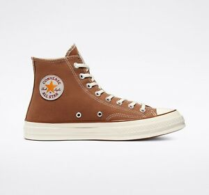 New Converse x Carhartt WIP Chuck 70 Hi Shoes (169220C) - Hamilton Brown