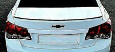 Chevy Cruze Trunk Lip Spoiler Rear Unainted ABS Plastic 4Dr 2012-2014 Chevrolet