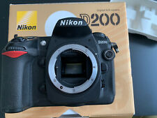 Nikon D200 In Box With Charger 2 Batteries And All Papers
