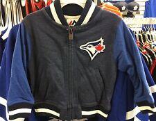 Toronto Blue Jays MLB Baseball 6x Years Old Chid Full Zip Varsity Jacket Kids L