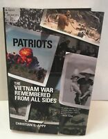 PATRIOTS THE VIETNAM WAR REMEMBERED FROM ALL SIDES HCDJ Book Christian G Appy