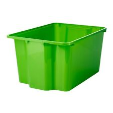 IKEA GLES Box (28x38x20) Grün Aufbewahrungsbox Stapelbar Boxen Spielzeugkiste