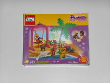 Vintage LEGO #2555 Belville Swing Paradisa Lifeguard Shell Oil PROMOTIONAL SET