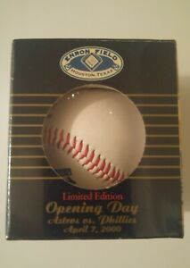 Sealed ENRON Field Opening Day April 2000 BASEBALL Houston Astros Phillies Ltd