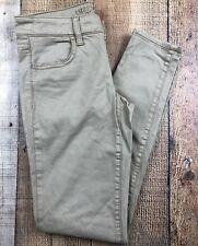 American Eagle Tan Jegging Low Rise Women's Jeans Size 0 26x29 Rise 7""