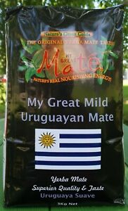 3kg My Great Uruguayan MILD ( SMOOTH) Yerba Mate