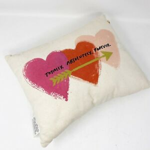 Hallmark Inspirations Totally Absolutely Forever Throw Pillow Decorative Love