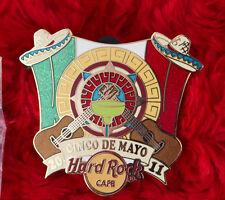 Hard Rock Cafe Pin Online CINCO DE MAYO LE 50  MARGHARITA mexico hat FLAG CITY