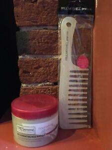 Paul Mitchell ProTools Comb +Tresemme Nourishing Rituals Rejuvenating Mud Masque