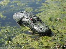 "22"" Floating Alligator Gator Head Decoy w/Red Eyes-for pond-water-pool-garden"