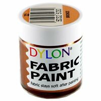 25ml JARS DYLON FABRIC CLOTHES TEXTILE TSHIRT PERMANENT COLOUR PAINTS SOFT DYES