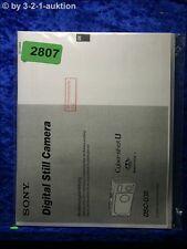 Sony Manual Dsc U30 Digital Still Camera (#2807)