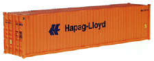 Walthers HO 40' Hapag-Lloyd Corrugated high cube Container 949-8254