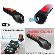 Hidden Wifi Recorder 1080P Car DVR Video Camera Dash Cam Recorder Night Vision