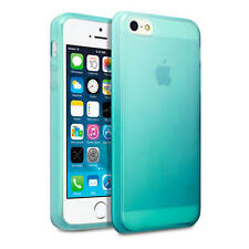 For New Apple iPhone SE/5/5S Blue TPU Gel Jelly Case Cover