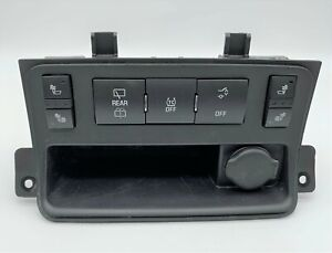 OEM 07-15 Buick Enclave Rear Wiper Traction Control Heated Seats Lighter Switch