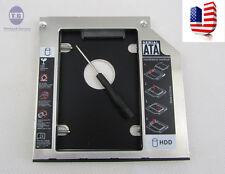 US SATA 2nd 9.5mm HDD SSD Caddy for Dell M6400 M6500 M6700 M6800 M4600 M4800