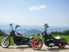 170 mm breiter runder Bobber Stahlfender für Honda VT Motorrad Modelle