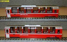 NEW KATO N GAUGE 10-1319 RhB Bernina Express 4 Car Add on Set