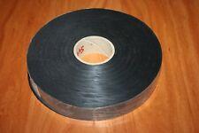 1 BOBINE DE 100 Mètres de RUBAN NYLON LARGEUR 22 mm COULEUR NOIR