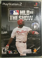 MLB the Show 08 Sony Playstation 2 NEW factory sealed ps2