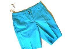 Womens Loudmouth Golf walking Bermuda SHORTS Powder BLUE Size 2